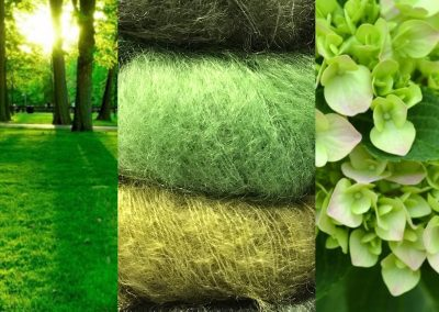 Yarns & Wool in Beautiful Greens | yarndesign in Kleve
