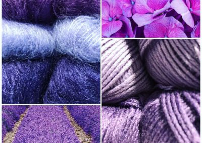 Yarn & Wool in purple and more | yarndesign Kleve
